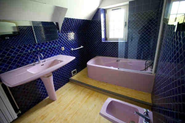 Gite dordogne sarlat salle de bains