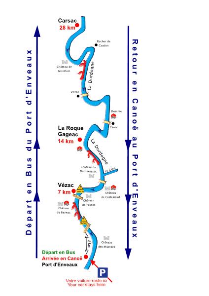 Location Canoe Dordogne